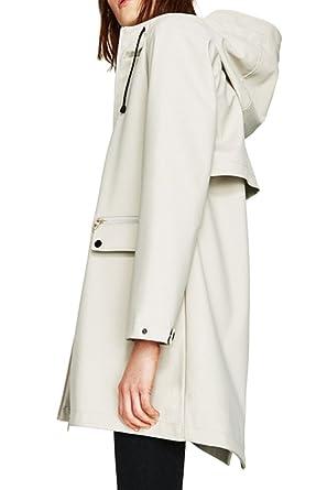 Manteau pluie beige femme