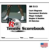 Blazer Athletic Tennis Scorebook