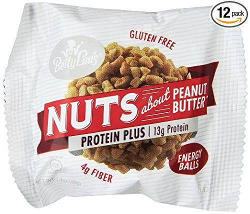 Betty Lou's - Nuts About Energy - Protein Plus Energy Bars - 12 Pack…