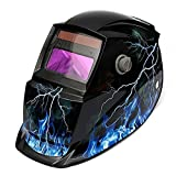 AIMENTE Electrical Welding Helmet Solar Energy Automatic Grinding Mask