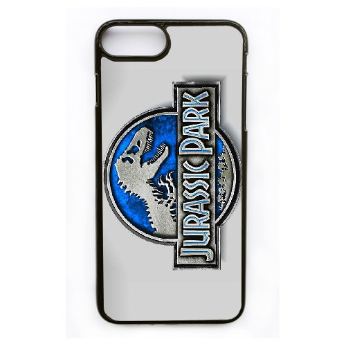 Coque,Apple Coque iphone 7 Plus (5.5 pouce) Case Coque, Generic Jurassic Park Cover Case Cover for Coque iphone 7 Plus (5.5 pouce) Noir Hard Plastic Phone Case Cover