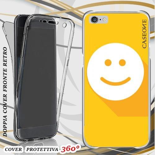 CUSTODIA COVER CASE FELICE PER IPHONE 6 PLUS FRONT BACK