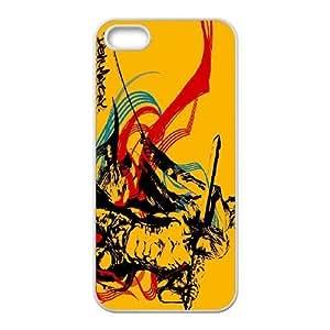 DANTE DANTE Devil May Cry funda iPhone 5 5s funda del teléfono celular de cubierta blanca, el funda iPhone 5 5s casos funda blanca