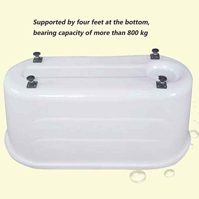 10cm Giow Barrierefreies Klappgel/änder f/ür Badezimmer 60