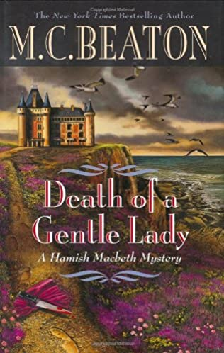 book cover of Death of a Gentle Lady