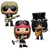 Guns N' Roses Collectibles: Funko Pop Vinyl Figures Axel Rose Slash Duff McKagan