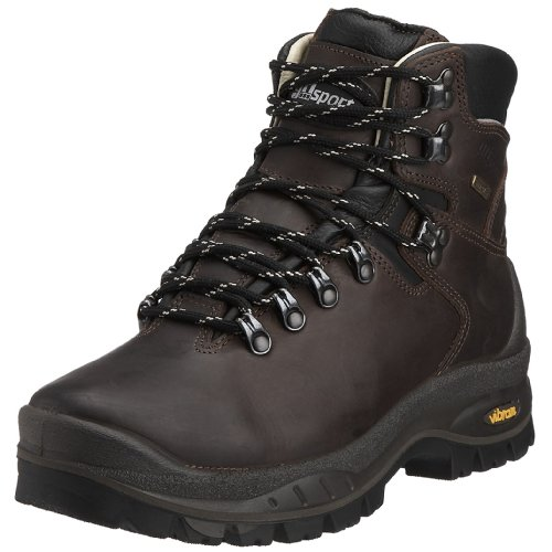 Grisport Crusader Sympatex Lined Waterproof and Breathable Italian Hiking Boot with Rugged Vibram Sole 7 Brown