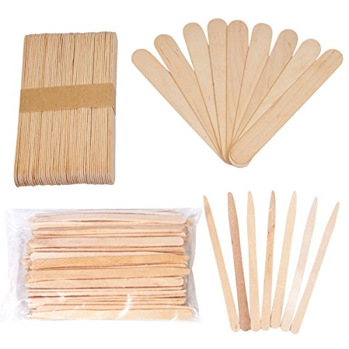 wooden spatulas waxing - 7