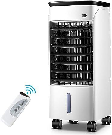 Opinión sobre XFENG Refrigerador de Aire enfriado por Aire Ventilador 3 en 1 Aire Acondicionado portátil Enfriador Humidificador Purificador Control Remoto móvil 7 h Temporizador Multifunción, 80 vatios