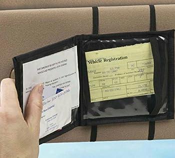High Road Car Visor Registration Wallet 1