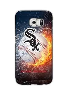 Tomhousomick Custom Design Forever MLB Chicago White Sox Team Case Cover for Samsung Galaxy S6