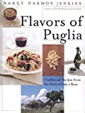 Front cover for the book Flavors of Puglia by Nancy Harmon Jenkins