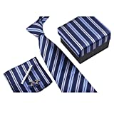 Ysiop Formal Neck Ties Clips Pocket Square - Best Reviews Guide