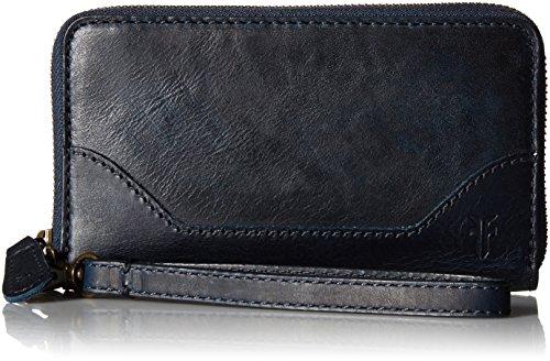 FRYE Melissa Zip Phone Wallet, Navy by FRYE