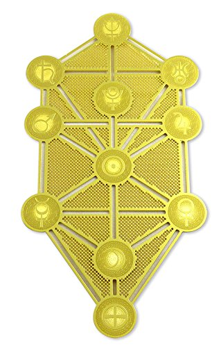 Astrogems Kabbalah Tree of Life 18K Gold Plated 6