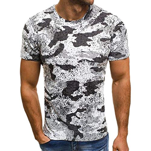 POQOQ T-Shirts Men Slim-Fit Quick-Dry Golf Polo Shirt Men Casual Slim Fit Pure Color Short Sleeve Polo Fashion T-Shirts M Gray