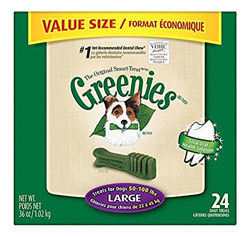 GREENIES Dental Chews Value Tub 36 Oz Large Dog, Pack of 9 by Greenies