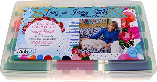 Aurifil 40wt Fancy Threads Set By Jennifer Paganelli by Aurifil
