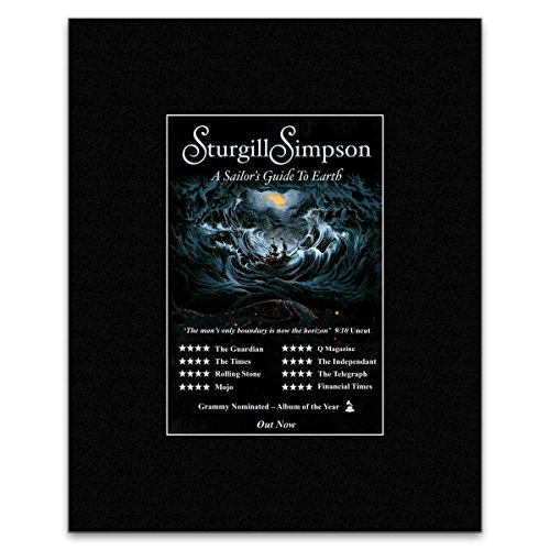 sturgill simpson a sailors guide to earth poster