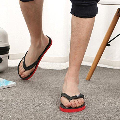Anti Pinch Low Shoes Size 6 Injection Green Flat Slipper Fashion Beach Flops Flip Women VPASS 5 Sandals Sandals EVA 5 Heels Shoes Men's 8 Skidding Spring Summer X1OPp