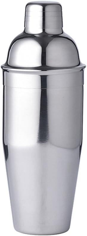 LUCKYGOOBO Cocktail Shaker,24 oz Martini Shaker,18/8 grade Stainless Steel Martini Mixer Built-in Strainer,Bartender Kit