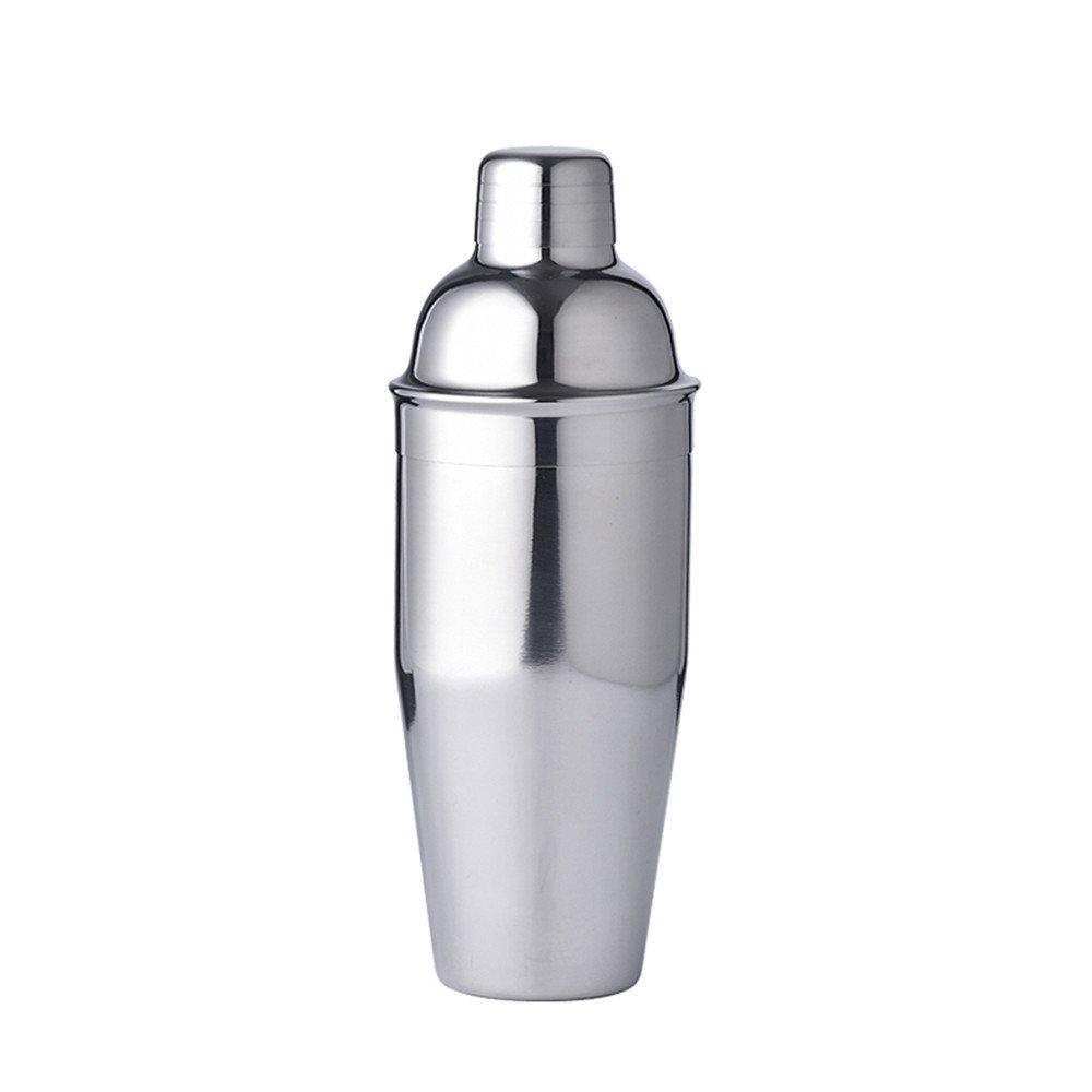 LUCKYGOOBO Stainless Steel Cocktail Shaker,25oz(750ml) Martini Shaker,Bartender Kit,Silver by LUCKYGOOBO