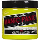 Manic Panic Semi-Permanent Color Cream, Electric Banana(4 fl oz)