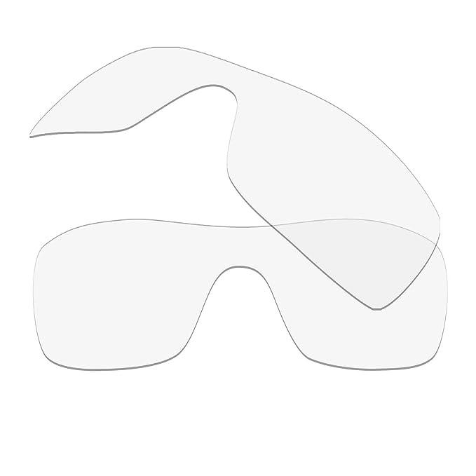HKUCO Plus Replacement Lenses For Oakley Batwolf Sunglasses Transparent Polarized muinm9