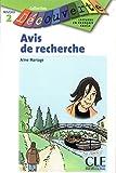 Avis de Recherche (Collection Decouverte: Niveau 2)
