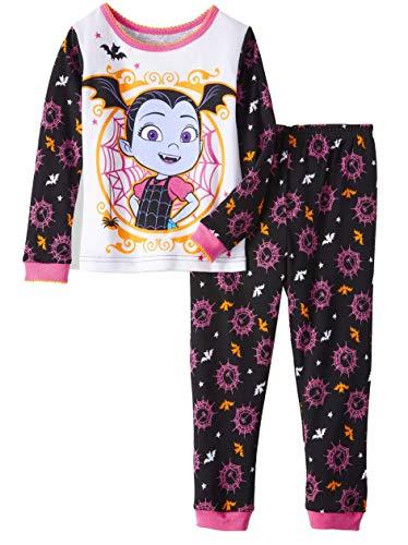 Disney Vampirina Little Girls Toddler Halloween Pajama Set -
