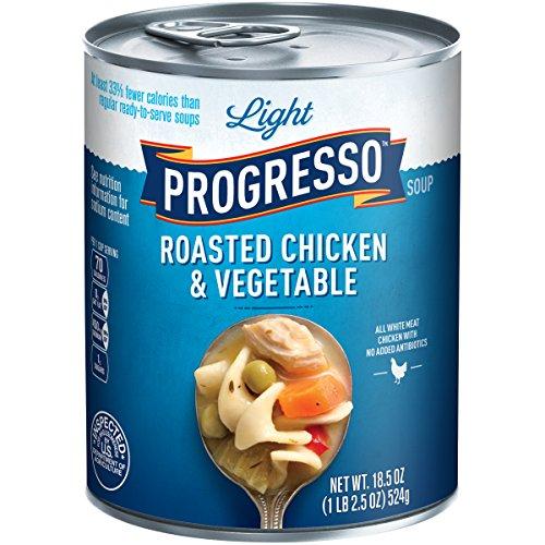 Light Progresso - Progresso Low Fat Light Roasted Chicken & Vegetable Soup, 18.5 Ounce