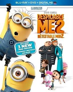 Despicable Me 2 [Blu-ray + DVD + UltraViolet Copy] (Bilingual) (B00A7BHO7E) | Amazon price tracker / tracking, Amazon price history charts, Amazon price watches, Amazon price drop alerts