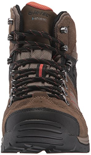 Boot Men's Hiking Tec Hi Mount Smokey Rock Brown Diablo Red 1XaRn6nq