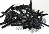(US) Remeehi 10,20,30,50pcs One Bag Wig Combs for Your Lace Cap More Convenient Safe and Stable CH2M