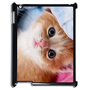 DIY Cover Case with Hard Shell Protection for Ipad2,3,4 case with Stay Meng cat lxa#468753 by mcsharks