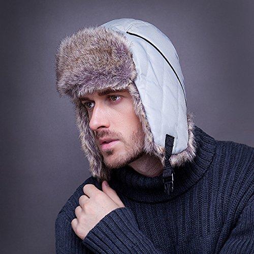 De Hombre Navy Máscara Hat Ski Para Trooper Ear Hat Bomber A Winter Warm Prueba Flap Unisex Viento Sombreros 7ITvqv