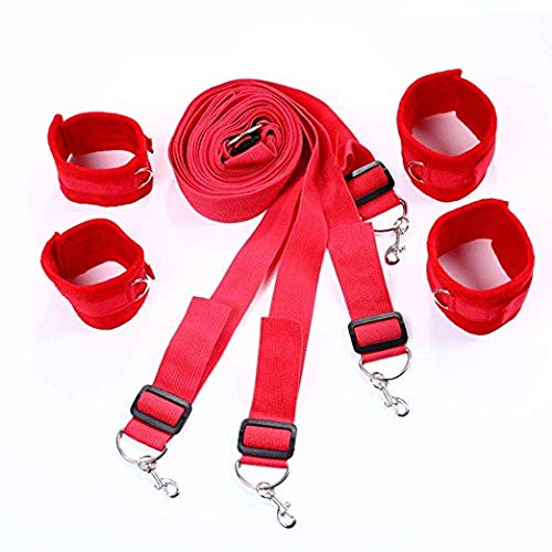 SuxHeart 4 Pieces of red Hand and Foot Sports Safety