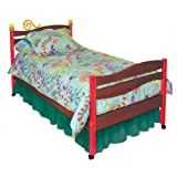 Room Magic Chocolate Twin Bed, Little Lizard