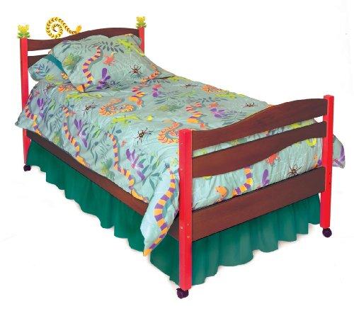 Little Lizard Twin Bed (Room Magic Twin Bed, Little Lizard Chocolate)