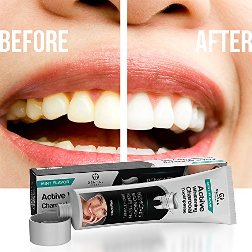 Dental Expert Activated Charcoal Teeth Whitening Toothpaste - Mint Flavor - (0.7 fl oz) by Dental Expert (Image #6)