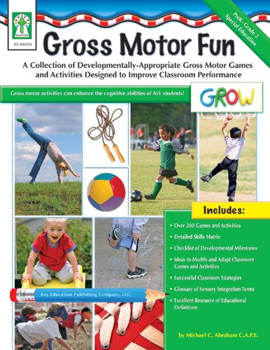 (Gross Motor Fun, Grades PK - 2: A Collection of Developmentally-Appropriate Gross Motor Games and Activities Designed to Improve Classroom Performance)