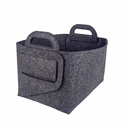 Foldable Cube Storage, Folding Organizer Storage Basket Bins Organizer Containers Drawers for Shelf, Closet or Underbed. Convenient for Clothes or Kids Toy Storage (Underbed Unit)