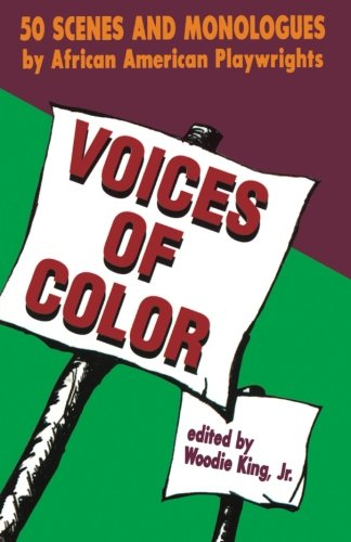 Voices of Color 50 Scenes & Monologues (Paperback) (Applause Acting Series) [Jr., Woodie King] (Tapa Blanda)