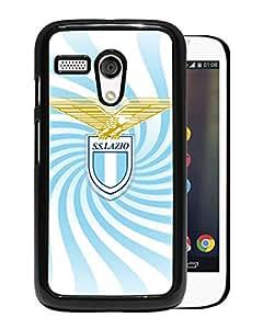 New Fashion Custom Designed Skin Case For Motorola Moto G With Lazio Black Phone Case 1