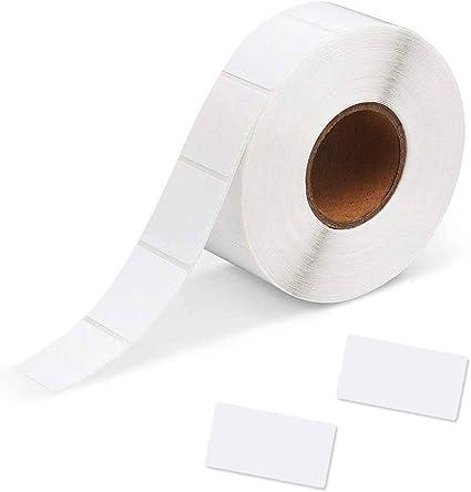 30 * 60 mm Etiquetas Multiuso de Nombre Adhesiva Fuerte Etiqueta de Transferencia T/érmica para Marcar YOTINO 1000 Piezas Etiquetas Adhesivas Blancas Impresora de Escritorio Imprimir C/ódigo QR