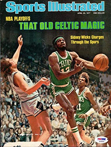 Sidney Wicks Autographed Sports Illustrated Magazine Cover Boston Celtics #S46895 PSA/DNA Certified