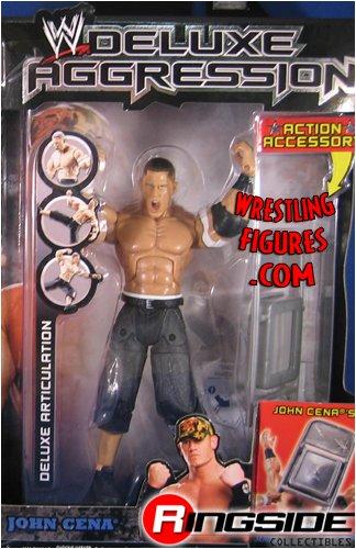 JOHN CENA DELUXE AGGRESSION 5 WWE JAKKS FIGURE