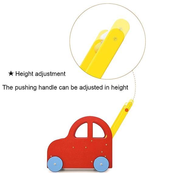 Andador de altura ajustable, juguete de interior de estilo ...