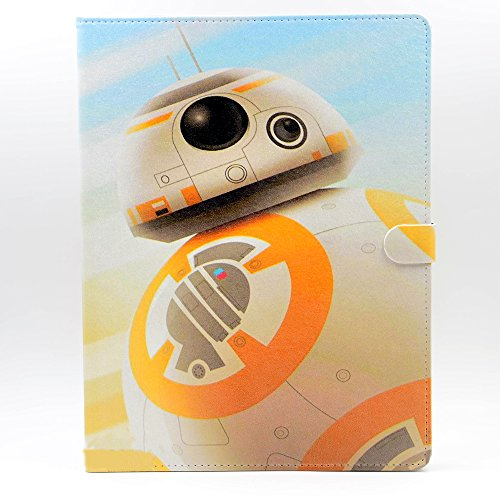 BB-8 BB8 Droid Pattern Leather Flip Stand Case Cover For App