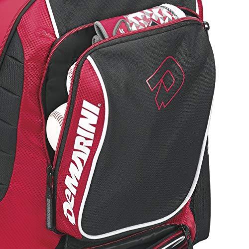 DeMarini WTD9407SC Momentum Backpack, Scarlet by DeMarini (Image #4)